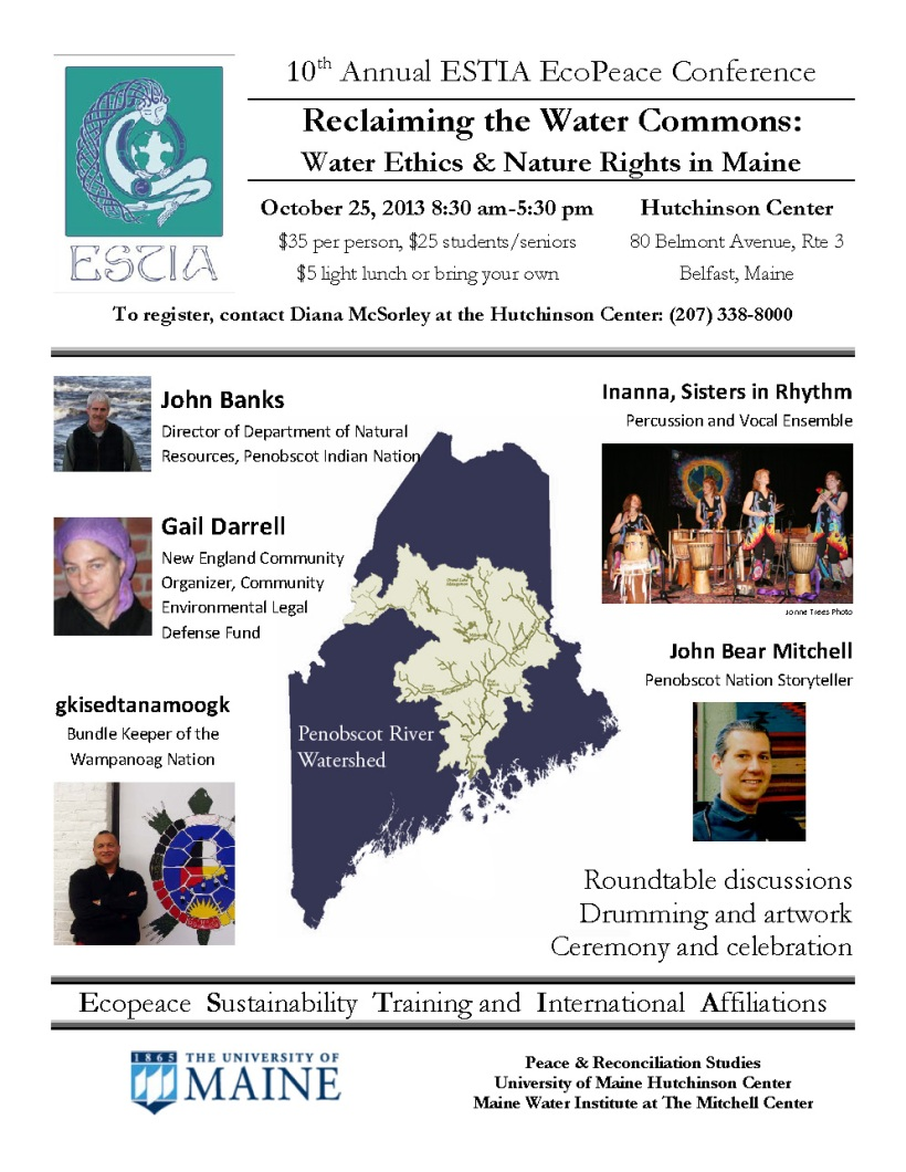 2013 EcoPeace Conf flyer